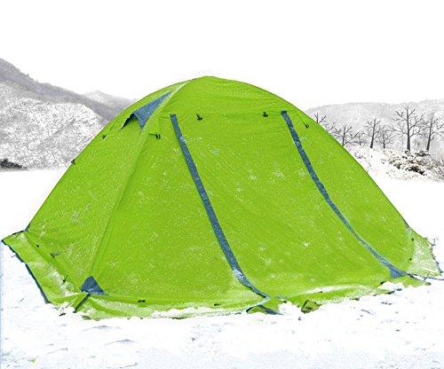 浸漬満足させる検出器テント 2人用 4シーズンに適用 軽量 アウトドア キャンプ用品 テント 二層アルミポール 防水 通気性 防雨 防風 防災 アウトドア/ビーチ/登山/遠足/ピクニック/災害時など