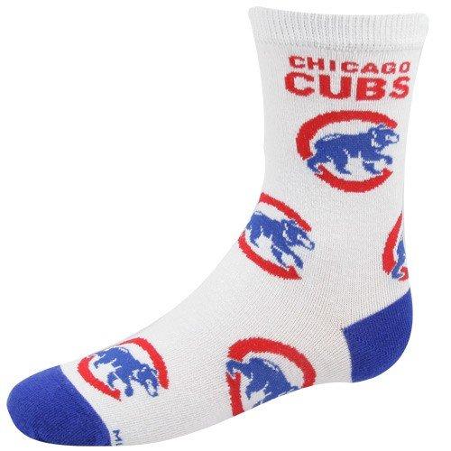 MLB Chicago Cubs Child All Over Print Socks