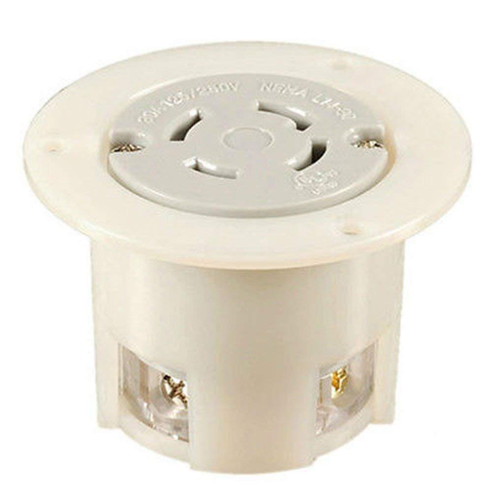 NIB,UL Listed,Twist Lock Locking NEMA L14-30 FO FLANGED OUTLET,3P4W,30A 125/250V (ETA:7-12 WORK DAYS)