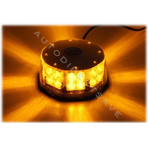New Amber LED Beacon Strobe Light Flasher Security Warning Alarm Signal - Security Alarm Light Strobe