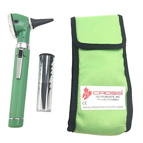 Cross Canada 11-084 Physician Fiber Optic LED Pocket Otoscope Diagnostic Set - - Canada Optics
