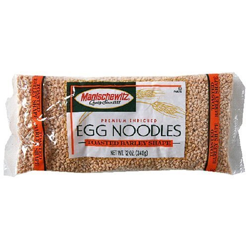 (Manischewitz Toasted Barley Egg Noodle 12.0 OZ(Pack of 2))