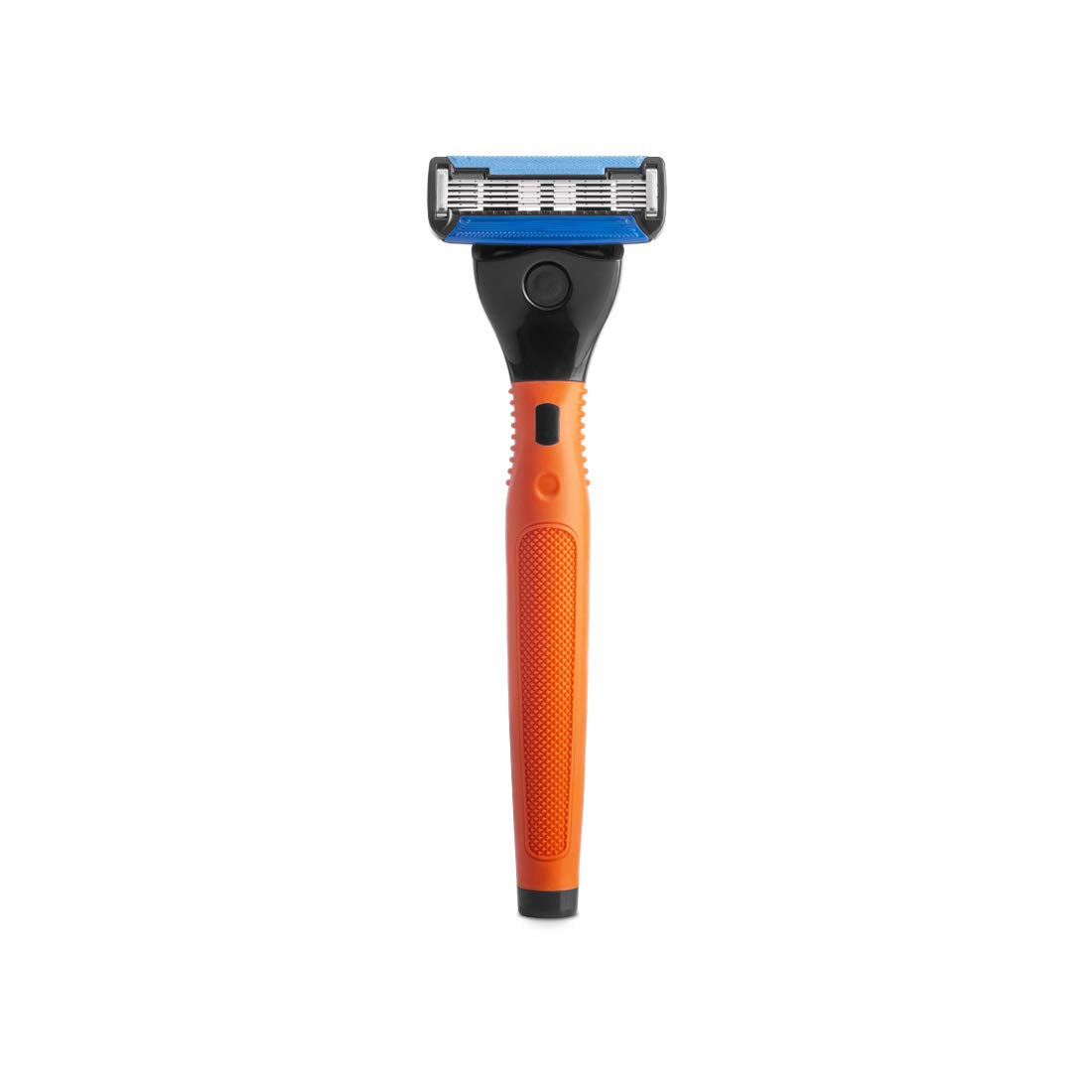 Ustraa Gear - 5 Blade Razor with contoured rubber handle and blades (Orange) product image