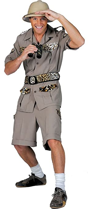 Karneval Klamotten Safari Kostum Herren Dschungel Karneval Fasching