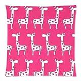 Doormat shirts The New Arrive 2015 Hot Pink Giraffe Pillow Cases - 18x18