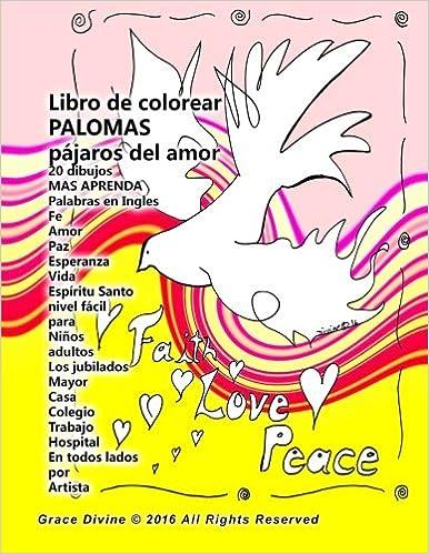 Descargue Libros Gratis En Pdf Libro De Colorear Palomas Pájaros Del