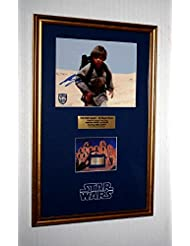 "STAR WARS ""Screen Used"" Prop ""TATOOINE"" LUKE HOME, Signed JAKE LLOYD, Blu Ray DVD, COA, UACC"