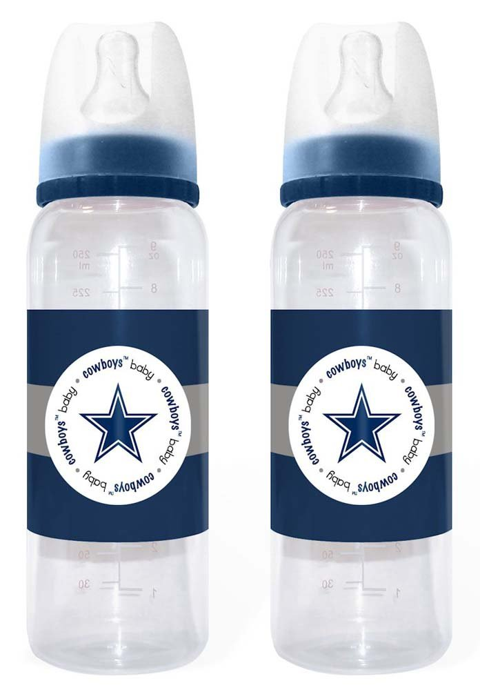 c552dae7e49 Amazon.com : NFL Dallas Cowboys 2 Pack Bottles (Discontinued by  Manufacturer) : Baby Bottles : Sports & Outdoors