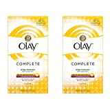 Olay Complete Lotion All Day Moisturizer with SPF 15 for Combination/Oily Skin, 6.0 fl oz, Pack of 2