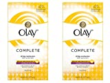 Sunscreen for Oily Skin Olay Complete Lotion All Day Face Moisturizer for Oily Skin with SPF 15, 6.0 fl oz, Pack of 2