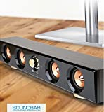 Royche MUSES MIDAS S3 Wood Soundbar 2.0 Multimedia Speaker System
