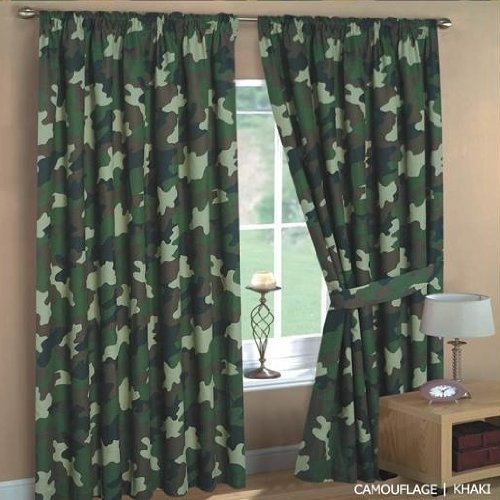 Curtains Ideas cheap camo curtains : Kids Army Camouflage Curtains 66