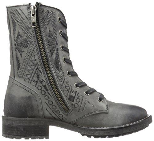 Musse & Cloud Womens Cors Combat Boot Gray