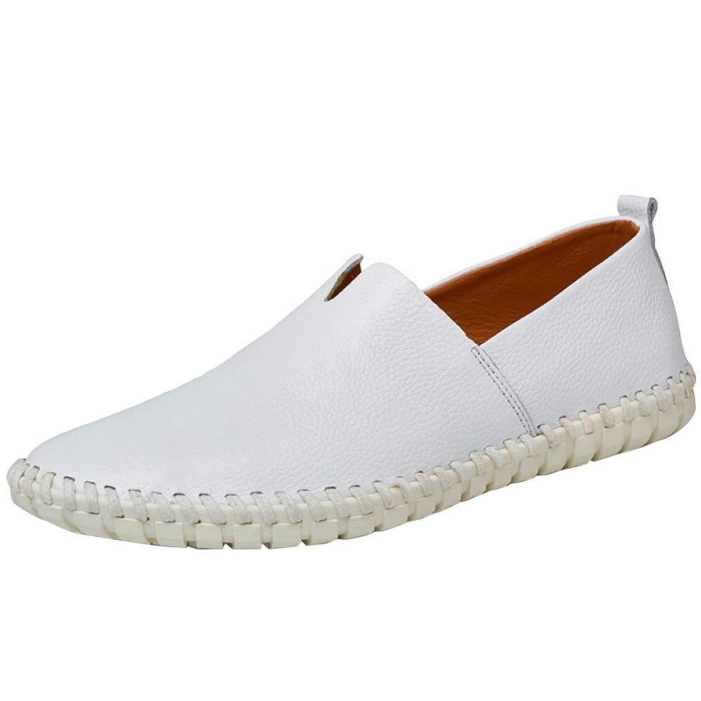 FuweiEncore Segeltuchschuhe Beiläufige Der Männer Beiläufige Segeltuchschuhe Schuhe Lofo Schuhe Bequeme Bequeme Faule Schuhe (Farbe   2, Größe   38EU) 421b2f