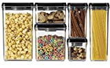 Cuisinart CFS-TC-REC64BS 64-Ounce Rectangular Fresh Edge Patented Vacuum-Seal Food Storage System, Black & Stainless Steel