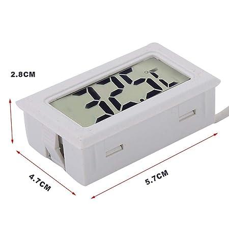 Digital Temperature Humidity Meter RiToEasysports Mini Digital LCD Indoor Temperature Humidity Meter Gauge Thermometer Hygrometer