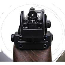 Tech Sight's TS200 adjustable aperture sight for the SKS Rifle steel base