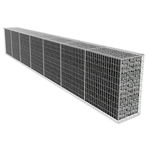 SaiDeKe Home Pratical Gabion Wall Basket with Cover for sale  Delivered anywhere in USA