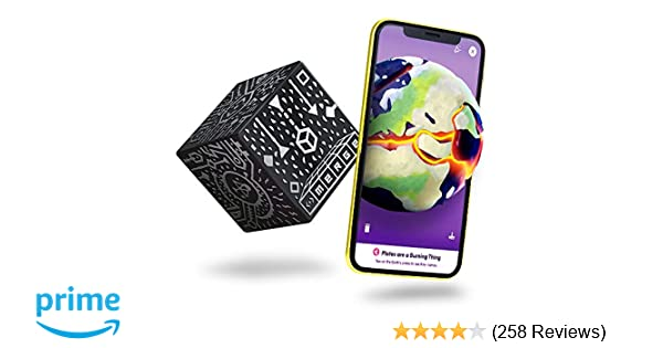 MERGE Cube Augmented Reality STEM Tool - Educational Games for Learning  Science, Math, Art and More in The Classroom and Home (1 Pack)