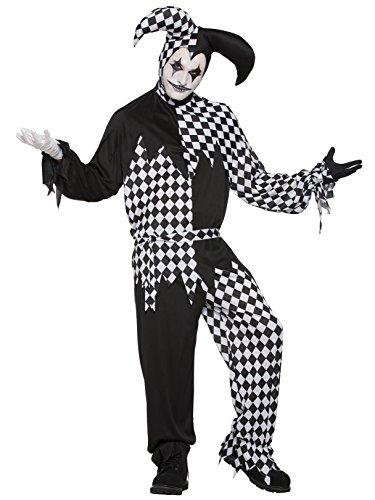 Forum Novelties Adult's Evil Jester Costume White