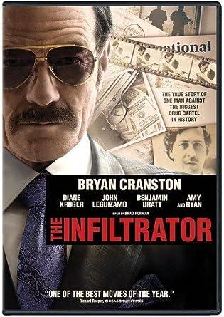 Amazon.com: The Infiltrator: Bryan Cranston, Diane Kruger, John Leguizamo,  Benjamin Bratt, Brad Furman: Movies & TV