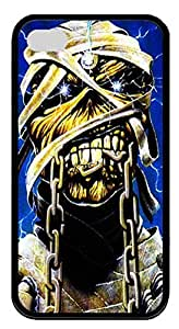 iPhone 4S Case iPhone 4S Cases Iron Maiden TPU Rubber Soft Case Back Cover for iPhone 4/4S Black