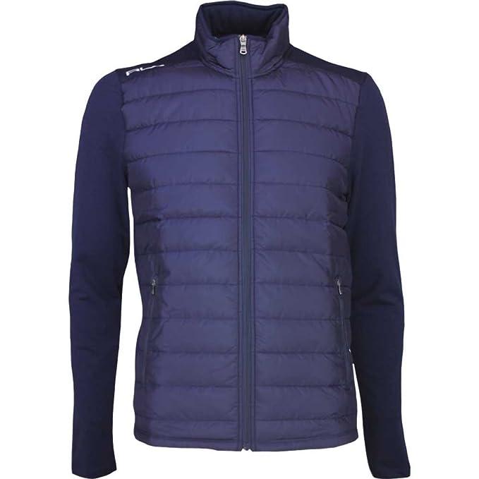 RLX Golf chaqueta acolchada - coolwool - francés azul marino AW16, Hombre, color azul marino, tamaño X-Large: Amazon.es: Ropa y accesorios
