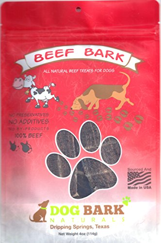 Dog Bark Naturals Jerky Dog Treats – Made in The USA – 1 Ingredient, Beef, Chicken, Bacon, Kangaroo, Bison, Venison…