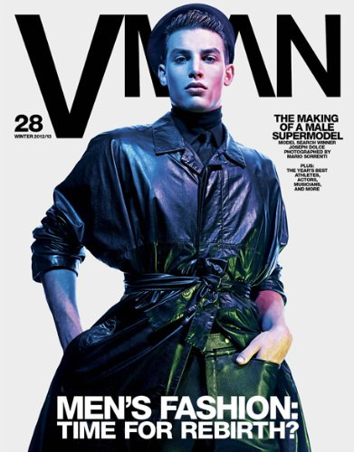 VMan Magazine Issue #28 (Winter 2012/2013) Joseph Dolce Cover