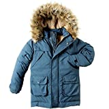 Appaman Kids  Baby Boy's Denali Down Coat (Toddler/Little Kids/Big Kids) Denim Blue 12