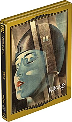 Metropolis 2-Disc Ultimate Collector's Edition [Numbered Limited Edition Blu-ray SteelBook] Region B UK Import