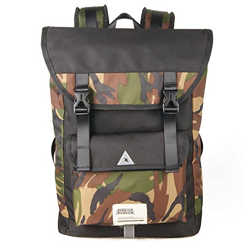 ZGB Hombres que viajaban estudiantes monopatines viajan mochila bandolera estudiantes de secundaria mochila bolso masculino