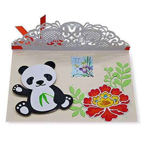 Ddge Dmms lovely Animal panda in acciaio al carbonio goffratura piastra fustella per lavoretti fai da te DDGEDMMS