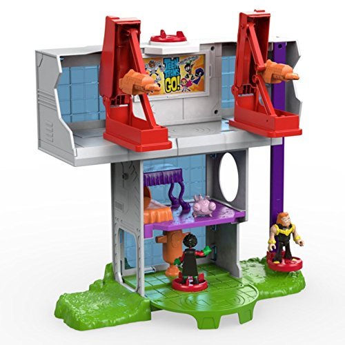 Teen Titan Toy : Fisher price imaginext teen titans go tower playset