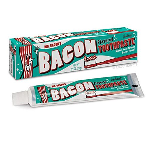 Flavored Toothpaste (Accoutrements Mr. Bacon's 2.5 Oz Bacon Flavored Toothpaste)
