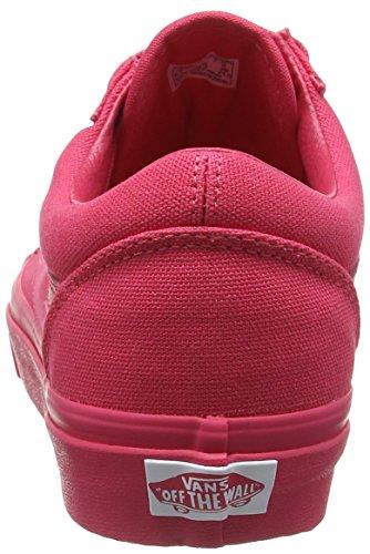 Bestelwagens Unisex-volwassenen Old Skool Heruitgave Sneakers Rotten ((mlx) Framboos Mono)
