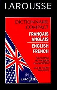 Hardcover Dictionnaire compact Français - Anglais / Anglais - Français [French] Book