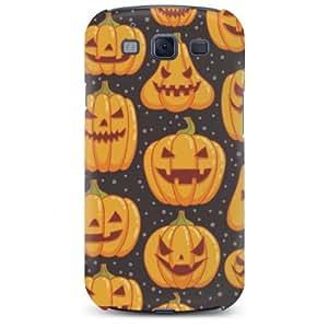 Smile Pumpkin Hard Case Cover for Samsung Galaxy S3