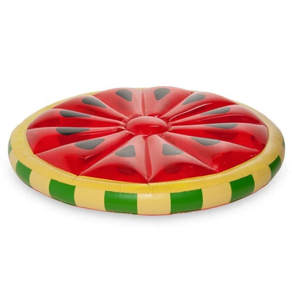 Kreative Wassermelone Aufblasbare Schwimmende Reihe - Kinder Erwachsene Strand Pool Aufblasbare Schwimmfloß - Geeignet Für Sommer Pool Party Ring Pool Float