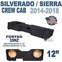 14-18 Chevy Silverado & GMC Sierra Crew Cab 12 Subwoofer Box