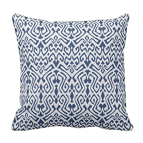 Fun Qiaoya Hair Salon Dots Pink Scissors Pillow Cover Decorative Home Decor Nice Gift Square Indoor/Outdoor Pillowcase Size: 18x18 Inch(45x45cm)(Two Sides) -