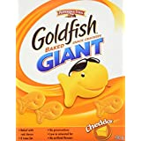 Pepperidge Farm Giant Goldfish Cheddar Crackers, 190g