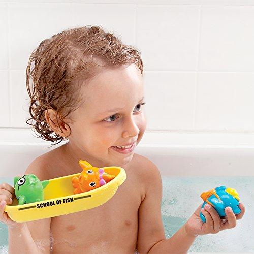 51XNBJRzlqL - Munchkin Bath Toy, School of Fish