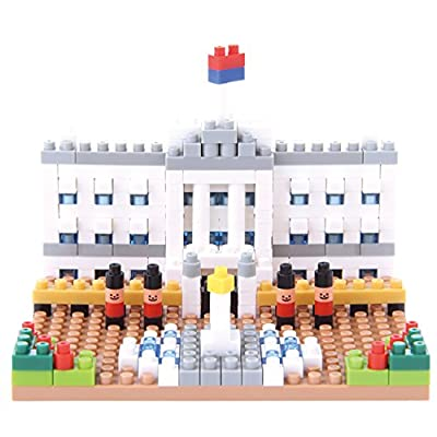 Nanoblock Buckingham Palace Building Kit: Toys & Games