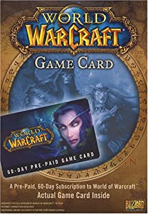 World of Warcraft 60 Day Pre-Paid Time Card     - Amazon com