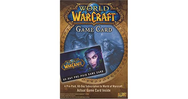 Amazon com: World of Warcraft 60 Day Game Time [Digital Code