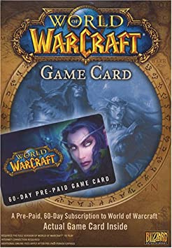 Activision World of Warcraft: 60-Day Pre-Paid Game Card ...