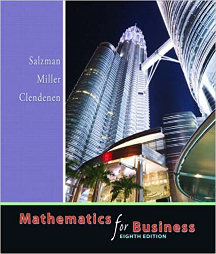 Mathematics for business 8th edition stanley a salzman charles mathematics for business 8th edition 8th edition fandeluxe Image collections