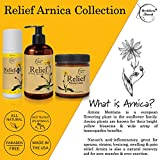 Relief Arnica Cream – Enriched with