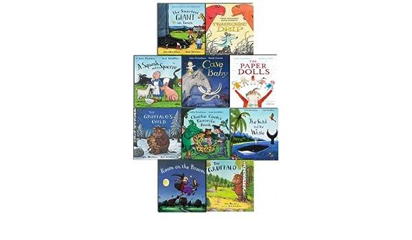 Julia Donaldson X10 Ziplock Pack 2015 by Julia Donaldson 2014-05-26: Amazon.es: Julia Donaldson: Libros